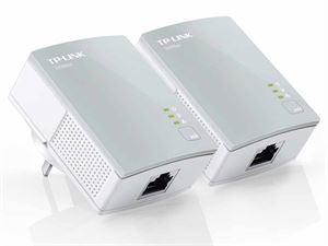 TP-Link PA411 AV500 Mini Powerline Adapter Starter Kit