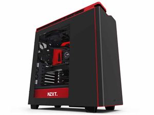 NZXT H440 2015 Edition Black/Red Mid-Tower Case - CA-H442W-M1