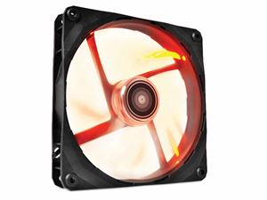 NZXT FZ Series 140mm Red LED High-Airflow Case Fan - RF-FZ140-R1