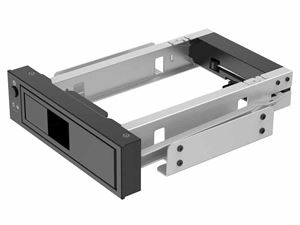 Orico 3.5 inch 5.25 Bay Stainless Internal Hard Drive Mounting Bracket Adapter - 1106SS-BK