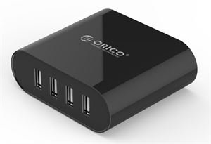 Orico 4 Port 30W USB Travel Charger with Power Adapter