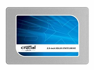 "Crucial BX200 240GB Internal Solid State Drive 2.5"", 7mm, with 9.5mm Adapter - CT240BX200SSD1"