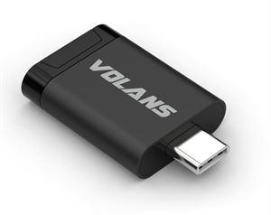 Volans Aluminium USB 3.1 Type-C Card Reader( Micro SD)