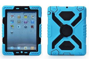 Pepkoo iPad mini 4 Case Blue and Black