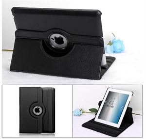 Ipad mini Leather Stand Holder Case Black