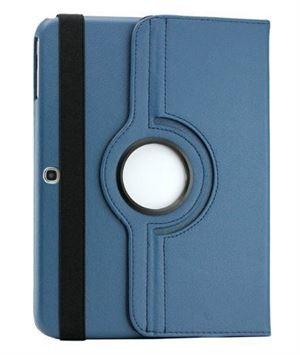 """360 Pu Leather Case 8"""" For Samsung Tab A 8.0"""" Dark Blue"""