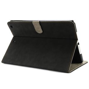 iPad Air PU Leather  Stand Holder Case Black