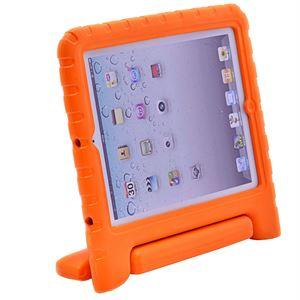 iPad 2/3/4 EVA Thick Foam Cover Case handle - Orange