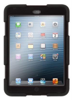Griffin - Survivor Cover For iPad - Black