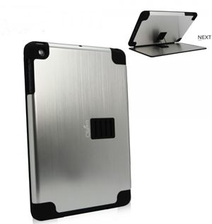 Obien - iPad Mini 1 Case & Stand Space Aluminium - Silver