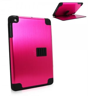 Obien iPad Mini 1 Case & Stand Space Aluminium - Fuchia