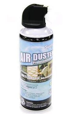 Air Duster - 400ML for Cleaning Keyboards, PCs, Laptops and Other Equipment