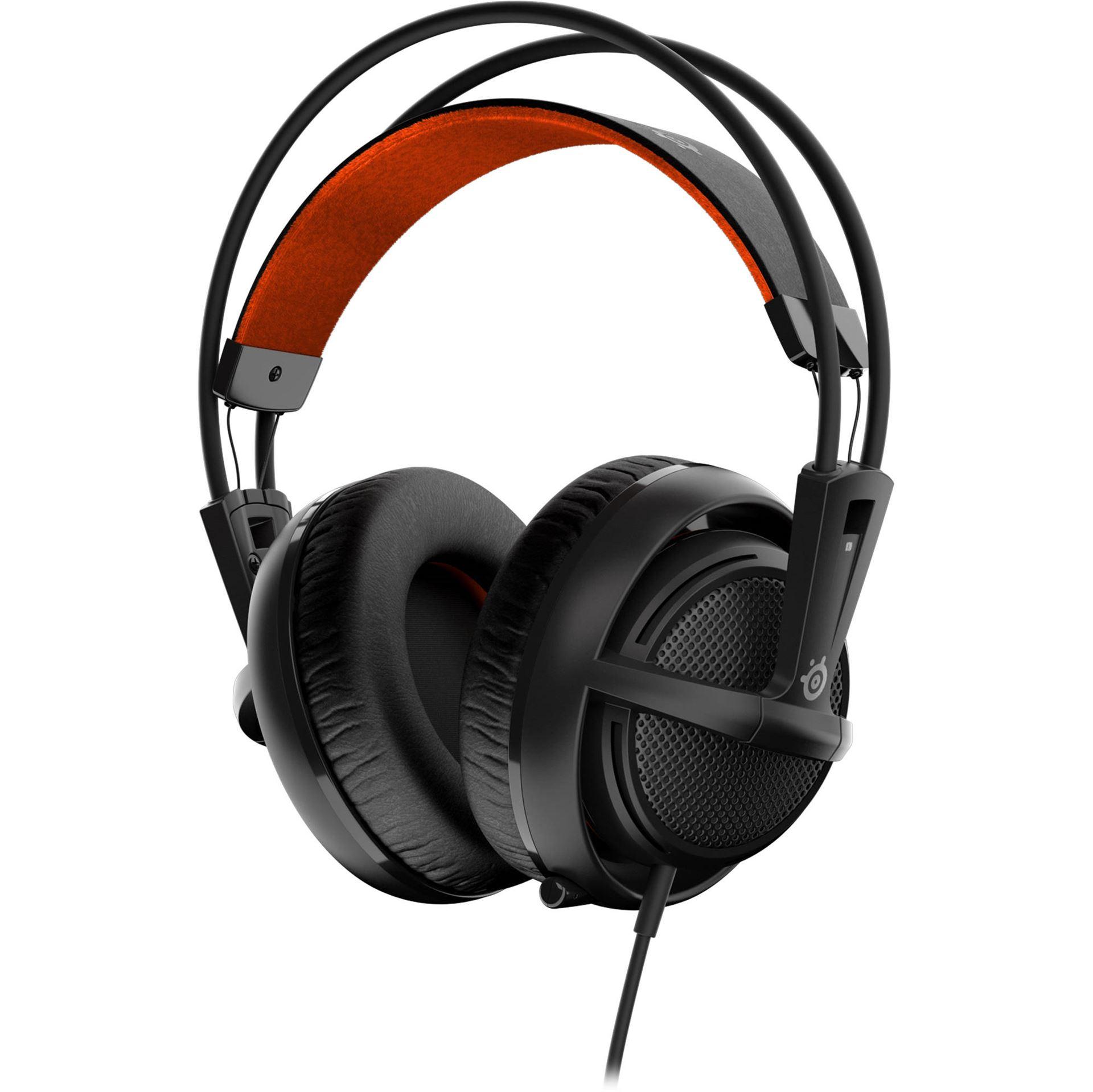SteelSeries Siberia V2 Full Size 1.8M Multipurpose Gaming Headset - Black - 51133