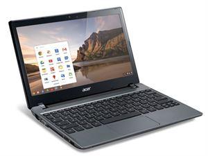 """Acer Chromebook C730 11.6"""" HD - Intel Celeron N2940, 4GB RAM, 16GB SSD, ChromeOS, 1 Year Warranty"""