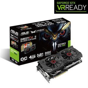 Asus GeForce GTX 980 Strix 4GB GDDR5 Graphics Card