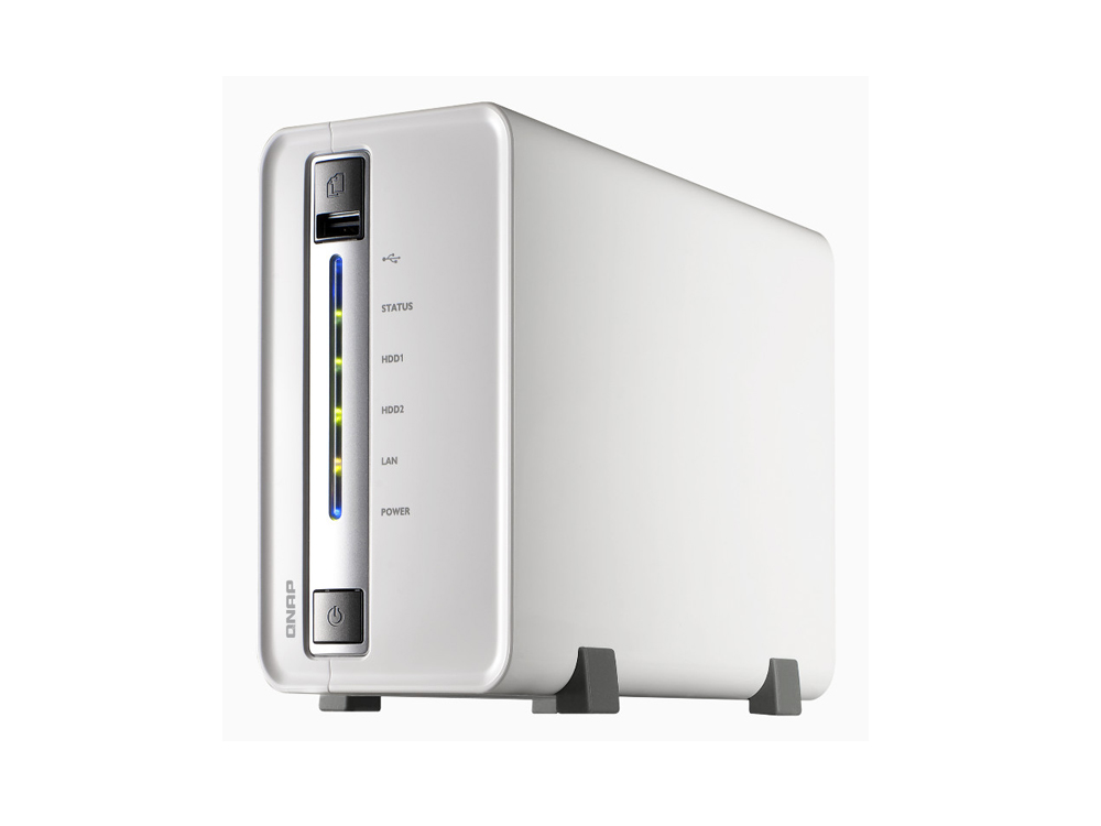 Qnap TS-212P 2-Bay All In One NAS Server