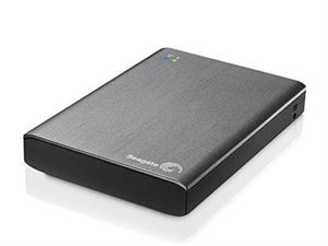 "Seagate Backup Plus Wireless 1TB Wifi USB 3 2.5"" Platinum"