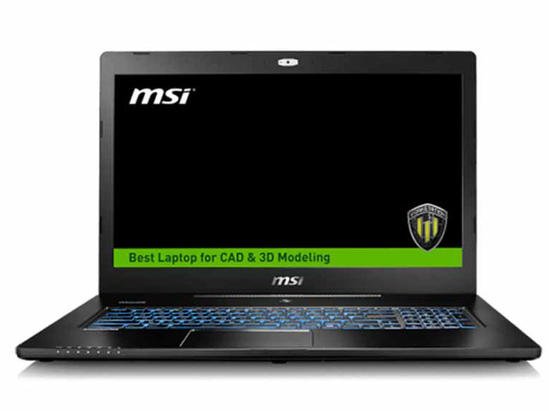 "MSI WS72 17.3"" Full-HD Core i7 M2000M Quadro Workstation Laptop - 6QJ-016AU"