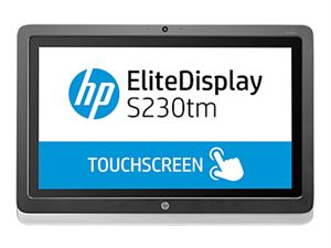 "23"" HP S230TM IPS FHD Touch, 16:9, 7ms, 1920X1080, DVI-D+DP, Win 8 Certified, 3 Yrs"