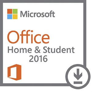 Microsoft Office Home & Student 2016 OEM - Medialess