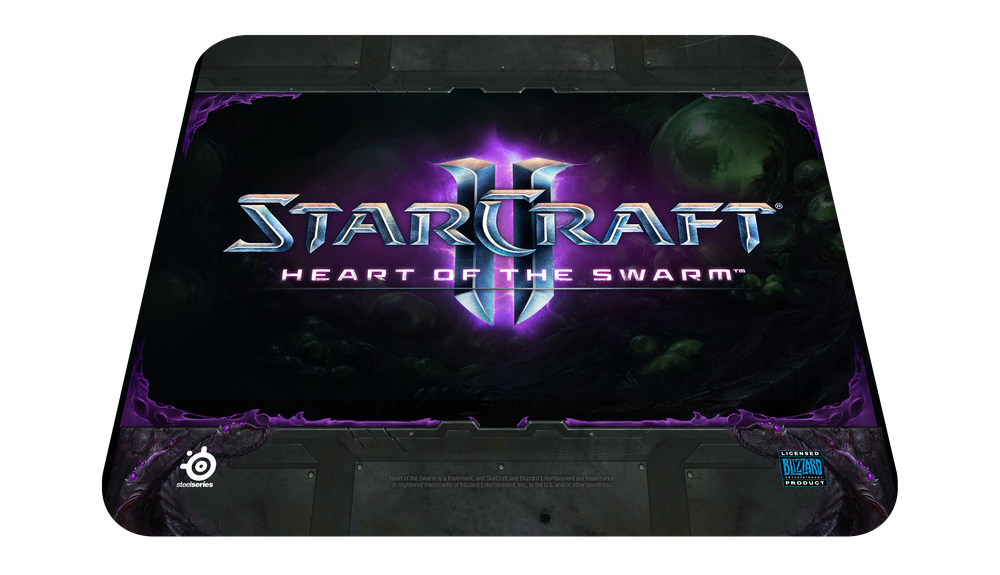 Steelseries QCK Starcraft II Heart of the Swarm Logo Edition Mouse Pad