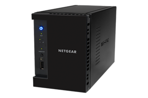 Netgear RN21200-100AJS 2-Bay Diskless NAS