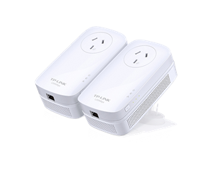 TP-Link AV1200 Gigabit Passthrough Powerline Starter Kit