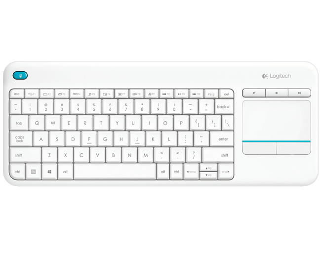 Logitech K400 Touch Keyboard - White