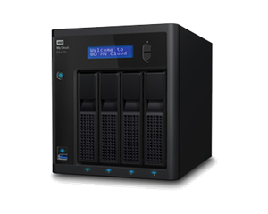 WD 4 Bay My Cloud EX4100 Expert Series - 8TB HDD
