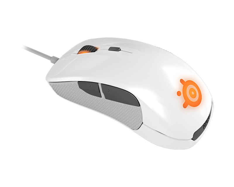 Steelseries Rival Optical Mouse 6500DPI - White