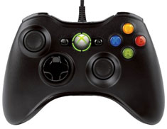 Microsoft Xbox 360 Black Wired Controller for Windows