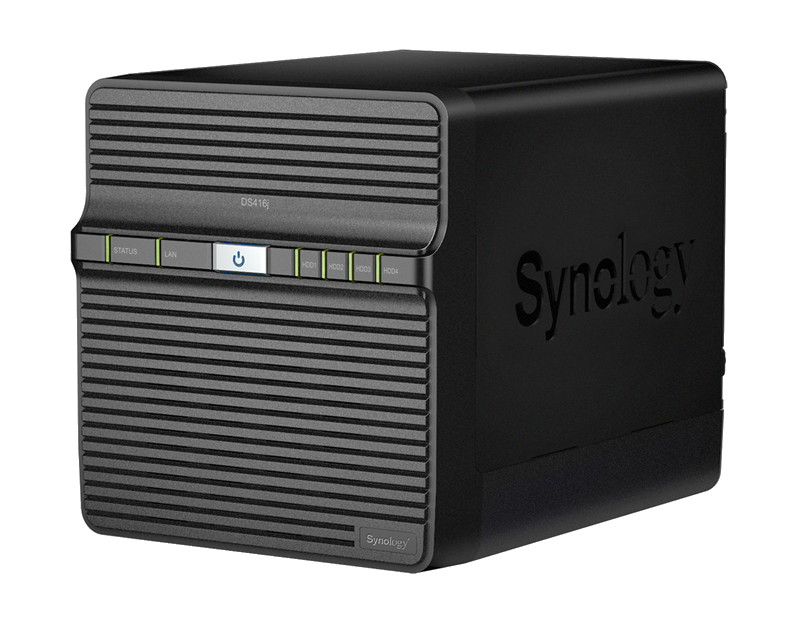 Synology DS416J 4 Bay Diskstation NAS