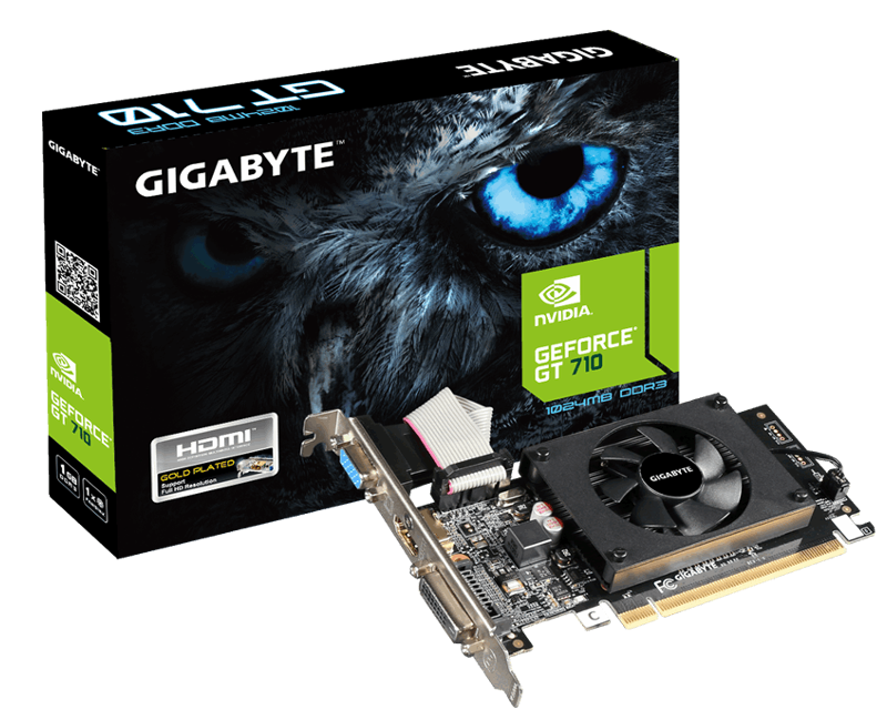 Gigabyte Geforce GT710 1GB DDR3