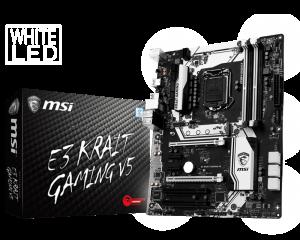 MSI E3 Krait Gaming V5 LGA 1151 Motherboard