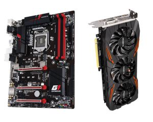 Gigabyte Z170X Gaming 3 Motherboard + GTX 1070 G1 Gaming Graphics Card