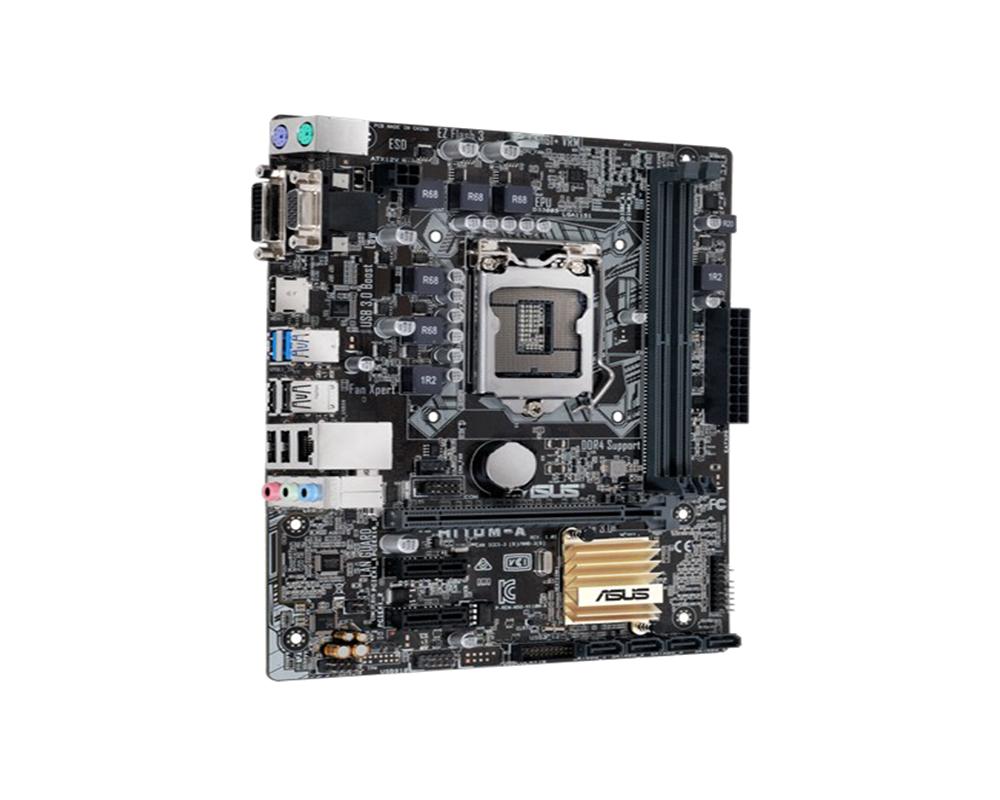 ASUS H110M-A / M2 Socket LGA 1151 mATX Motherboard (H110M ...