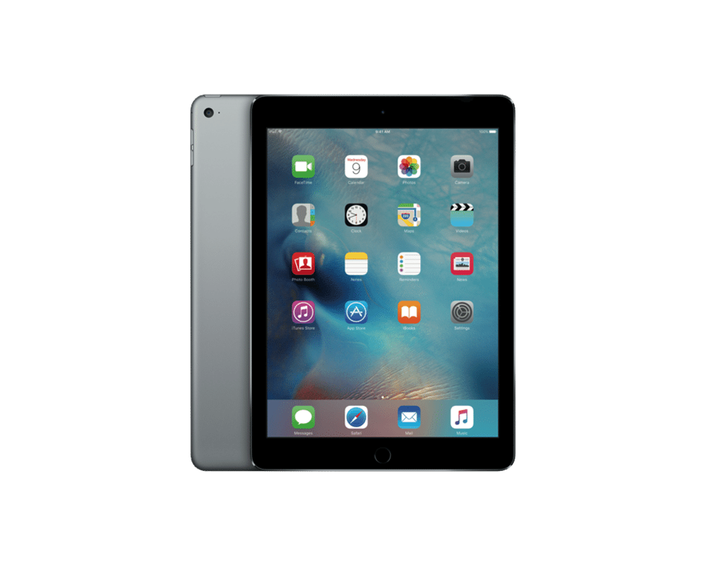 apple ipad air 2 wi fi cellular 16gb storage space grey. Black Bedroom Furniture Sets. Home Design Ideas