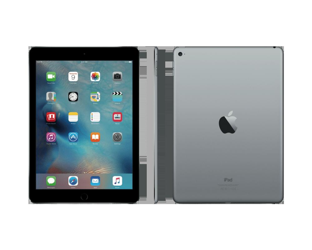 apple ipad air 2 wi fi cellular 16gb storage space grey. Black Bedroom Furniture Sets. Home Design Ideas