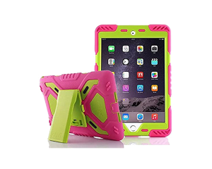 Pepkoo iPad mini Case - Pink / Green