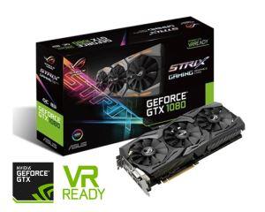ASUS ROG GeForce GTX 1080 Strix 8GB - Overclocked