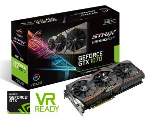 Asus GeForce GTX 1070 8GB ROG Strix Graphics Card
