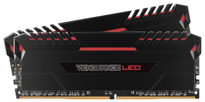 Corsair Vengeance (2x8GB) 16GB DDR4 3000Mhz Desktop RAM - Red LED