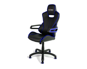 Nitro Concepts E200R-BB Race Gaming Chair - Black and Blue