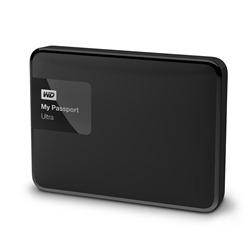 "Western Digital 4TB Ultra 2.5"" External HDD USB 3.0 - Black"