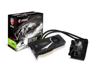MSI GeForce GTX1080 Sea Hawk X
