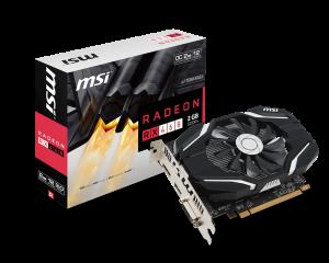 MSI RX 460 2GB OC Radeon Gaming Graphics Card