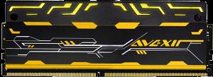 Avexir Blitz 16GB (2x8GB) DDR4 2800Mhz RAM - Gold LED