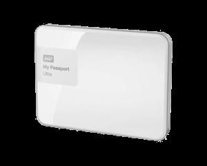 WD My Passport Ultra 4TB - White