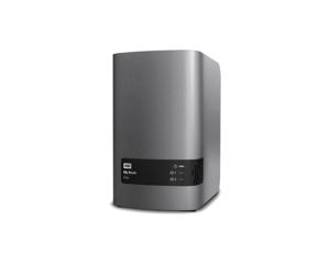WD My Book Duo 12TB 2-Bay Enclosure - Silver