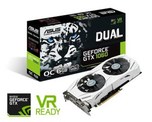 Asus GTX 1060 Dual OC 6GB Graphics Card